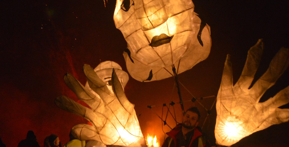 Goole Bonfire Night Lantern Puppets