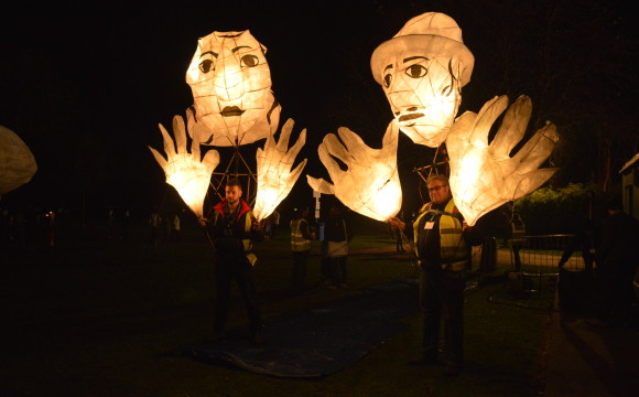 Bonfire Puppets