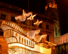 Mayflower large scale lantern parade - Illuminate parade 2015