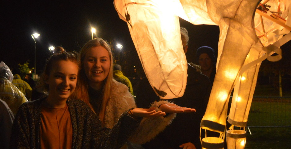 Goole Bonfire Lanterns. 'Pageant'