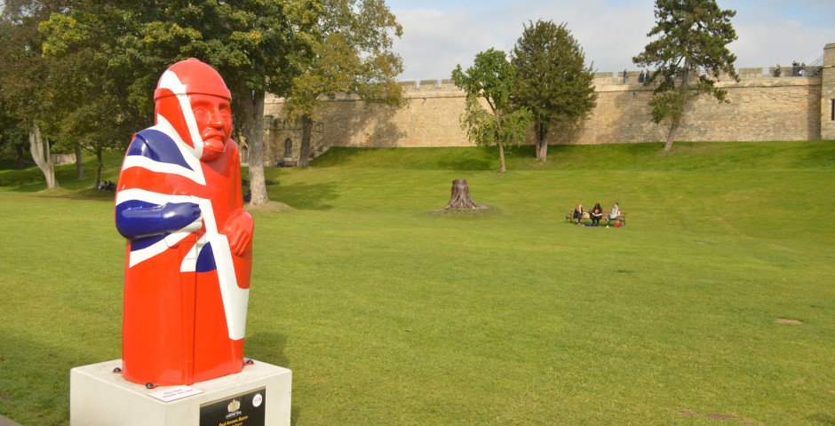 Red Arrow Baron at Lincoln Castle