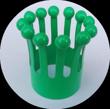 green. round