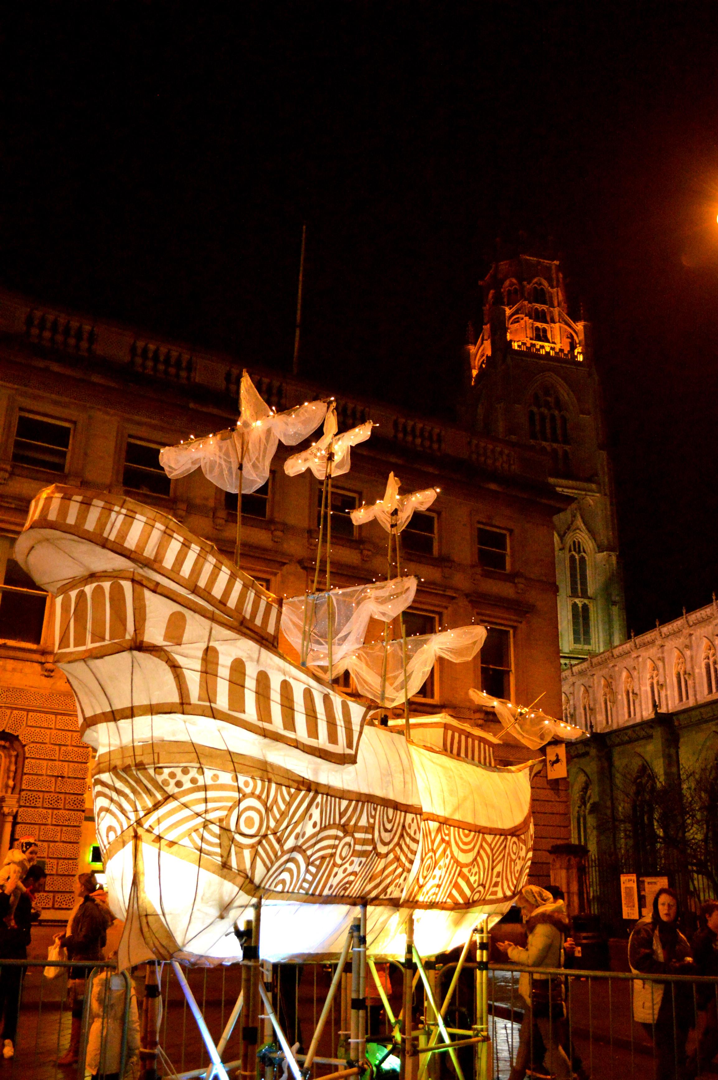 Large Scale Lanterns
