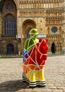 Lincoln Knight. Designed and painted with service users of the Nomad Trust