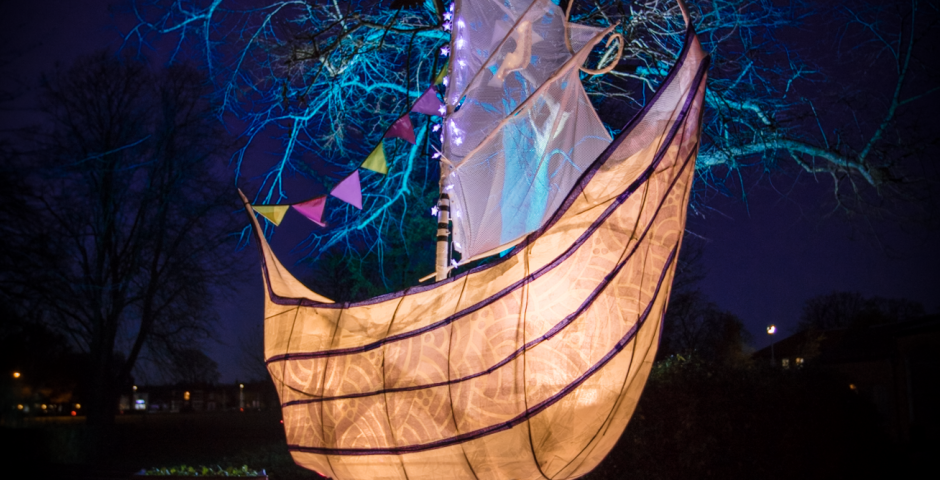 The Boat of Hope and Dreams - photo credit Electric Egg