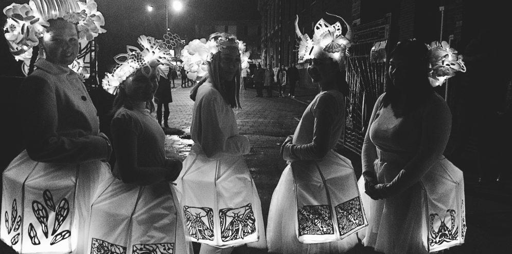Illuminate dancers costuming