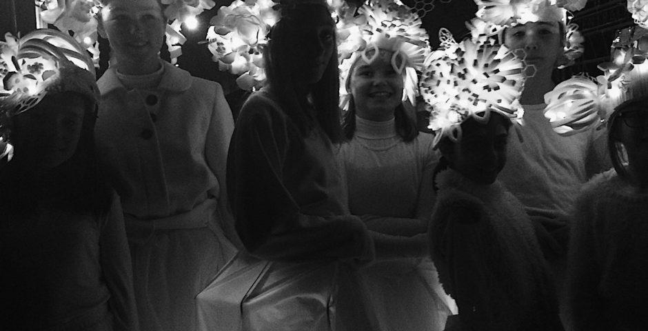 Illuminate costumes