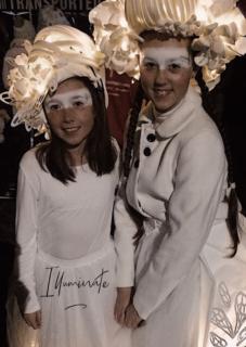 Costuming for illuminate parade