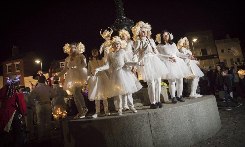 Illuminate 2018 costumes and headdresses