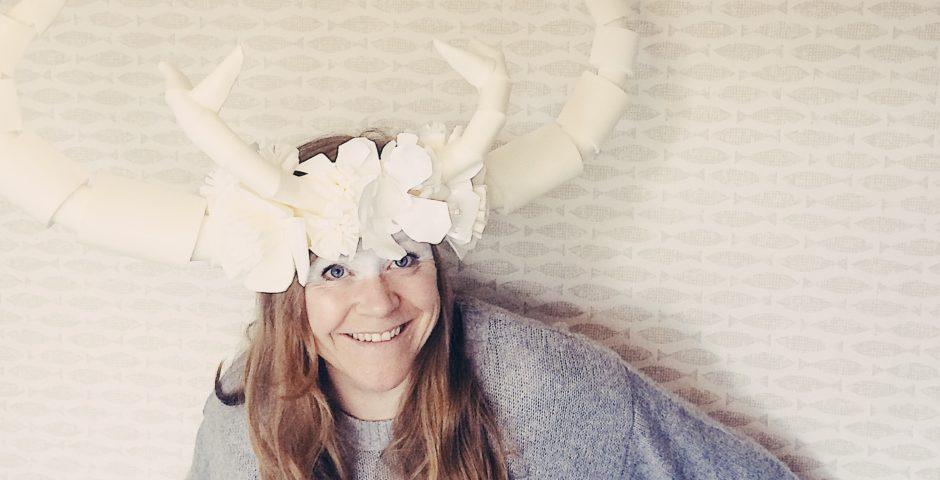 Antlers headdress