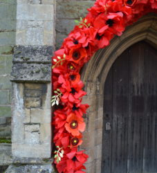 remembrance archway - schools project
