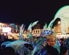 Mermaid costuming for dancers