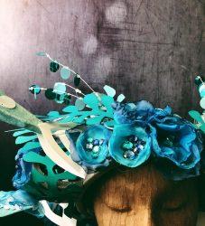 Headdress - under the sea