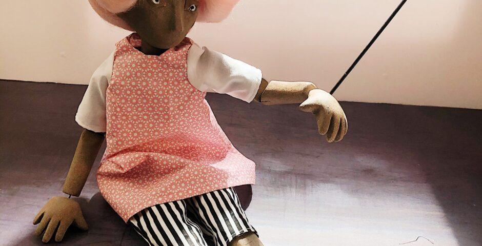 Candy Floss puppet