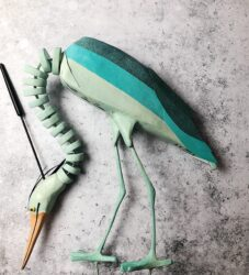 Heron Puppet - Nature Elly Production